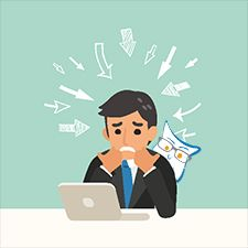 legal issues cause stress, picking a good attorney can reduce that stress